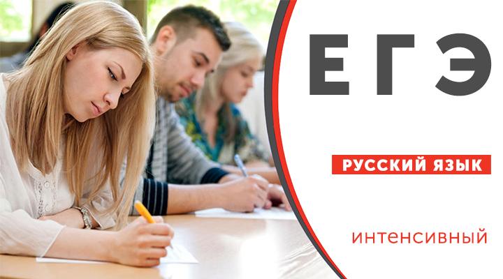 Подготовка к ЕГЭ по русскому языку ( уровень программы: интенсивный )