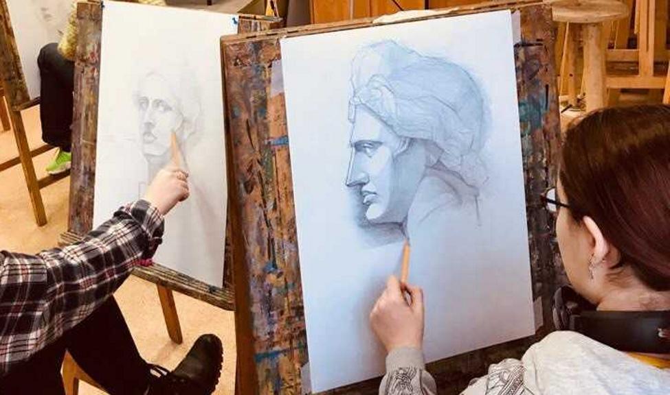 Подготовка к творческим испытаниям по рисунку