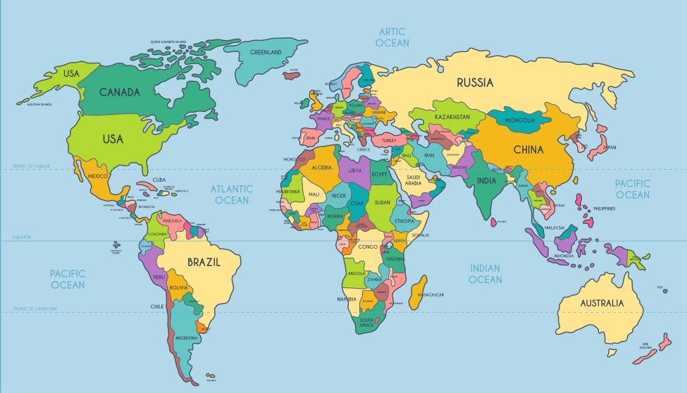 Овладение школьниками основами картографической грамотности на уроках географии (углубленный уровень)