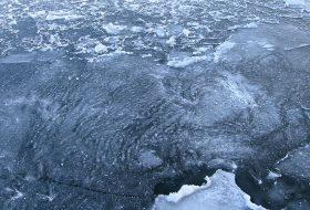 Ледяные рисунки.